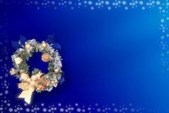 Cartolina di Natale con spazio per i desideri illustrazione vettoriale