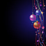 Cartolina di Natale con spazio vuoto per testo Fotografia Stock