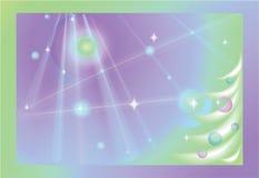Cartolina di Natale decorativa royalty illustrazione gratis