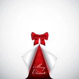 Cartolina di Natale elegante con i fiocchi di neve Immagine Stock Libera da Diritti