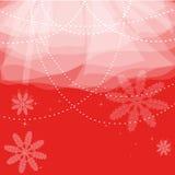 Cartolina di Natale rossa Immagini Stock Libere da Diritti