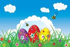 Cartolina di Pasqua Fotografie Stock