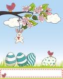 Cartolina di Pasqua Fotografie Stock Libere da Diritti