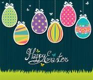Cartolina di Pasqua Immagini Stock
