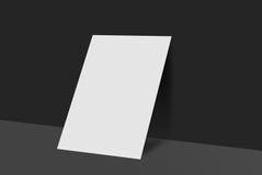 Cartolina e copertura del modello Fotografie Stock