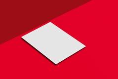 Cartolina e copertura del modello Fotografie Stock Libere da Diritti