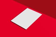 Cartolina e copertura del modello Fotografia Stock Libera da Diritti