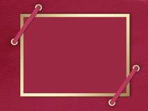 Cartolina-invito ai precedenti del claret Immagini Stock