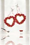 Cartolina per amore Immagini Stock