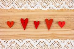 Cartolina per il biglietto di S. Valentino Immagini Stock