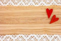 Cartolina per il biglietto di S. Valentino Fotografia Stock Libera da Diritti