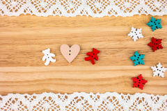Cartolina per il biglietto di S. Valentino Fotografia Stock