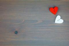 Cartolina per il biglietto di S. Valentino Immagine Stock