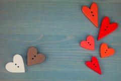Cartolina per il biglietto di S. Valentino Immagini Stock Libere da Diritti