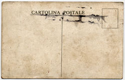 Cartolina Postale Stock Photos
