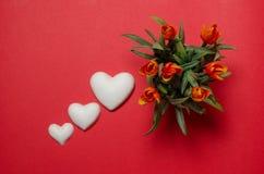 Cartoline al giorno del ` s del biglietto di S. Valentino della st Fotografia Stock Libera da Diritti