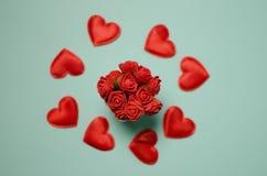 Cartoline al giorno del ` s del biglietto di S. Valentino della st Fotografia Stock