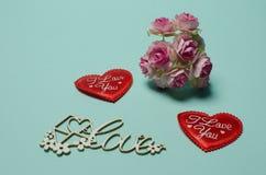Cartoline al giorno del ` s del biglietto di S. Valentino della st Immagini Stock