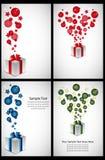 Cartoline d'auguri illustrazione di stock