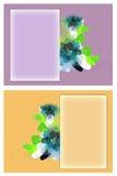 Cartoline d'auguri Fotografie Stock