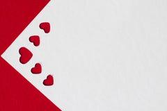 Cartoline d'auguri di giorno del ` s del biglietto di S. Valentino Fotografia Stock Libera da Diritti