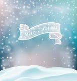 Cartoline d'auguri di Natale con gli elementi decorativi Immagine Stock Libera da Diritti