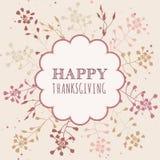 Cartoline d'auguri di ringraziamento Immagine Stock
