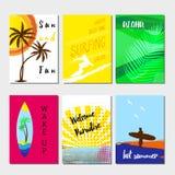 Cartoline d'auguri - goda dell'ora legale Immagini Stock