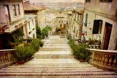 Cartoline dall'Italia (serie) Fotografia Stock