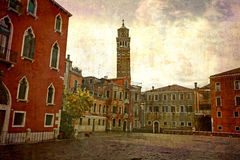 Cartoline dall'Italia (serie) Fotografia Stock Libera da Diritti