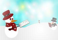 Cartoline di Natale royalty illustrazione gratis