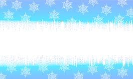Cartoline di Natale blu Fotografie Stock Libere da Diritti