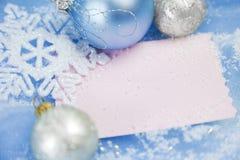 Cartoline di Natale/con lo spazio della copia Immagine Stock Libera da Diritti