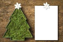 Cartoline di Natale, lettera in bianco Immagini Stock