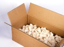 Carton box royalty free stock photos