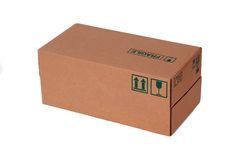 Carton box Royalty Free Stock Photo