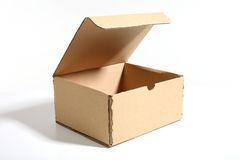 Carton box Stock Photos