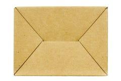 Carton box bottom Stock Photo