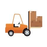 Carton box icon Royalty Free Stock Photo