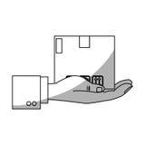 Carton box icon Stock Image