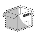 Carton box icon Stock Images