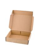 Carton box isolated Stock Photo