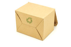 Carton box for recycling Stock Photography