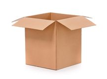 Carton box Stock Image