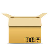 Carton box. Stock Images