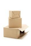 Carton boxes Stock Photo