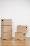 Carton Boxes Royalty Free Stock Photos