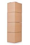 Carton boxes Royalty Free Stock Photos