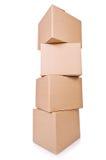Carton boxes Royalty Free Stock Photo