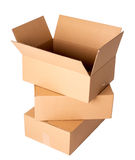 Carton boxes Royalty Free Stock Image